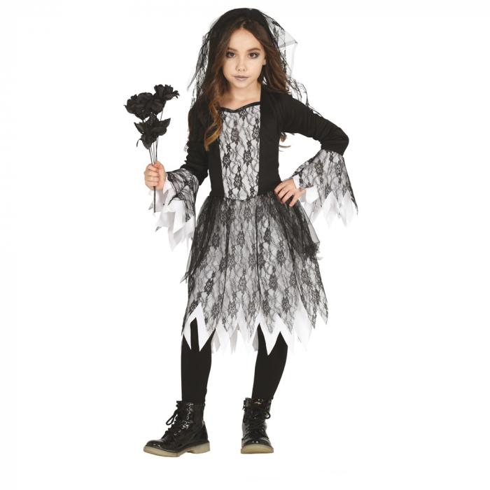 Costum Mireasa Gotica 10 - 12 ani [0]