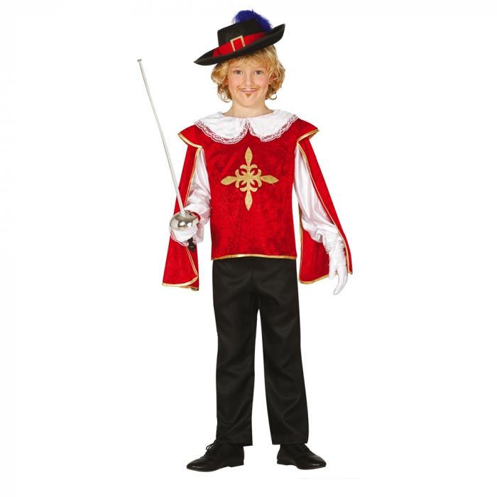 Costum Muschetar 7 - 9 ani [0]