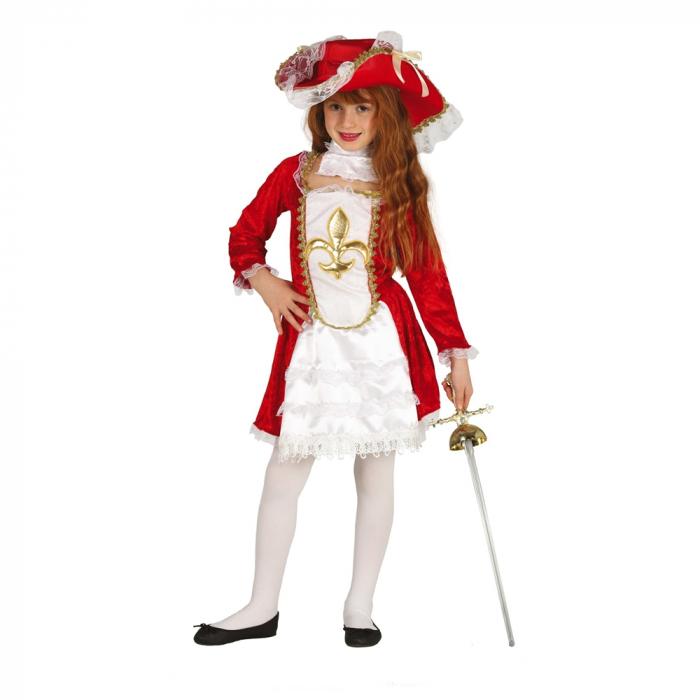 Costum Muschetar Fata 10 - 12 ani 0