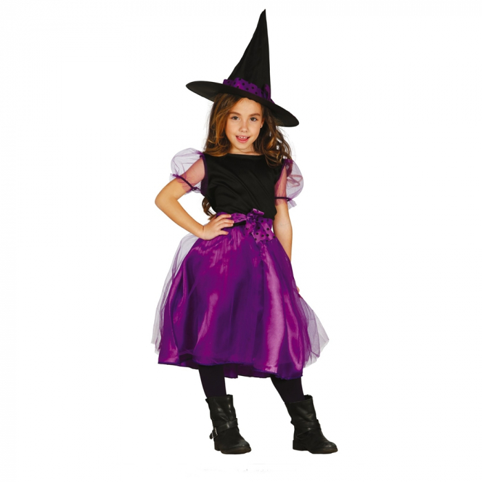 Costum Vrajitoare mov 10 - 12 ani [0]