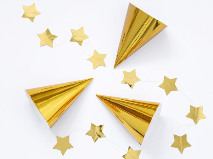 Set 6 Coifuri Aurii [1]