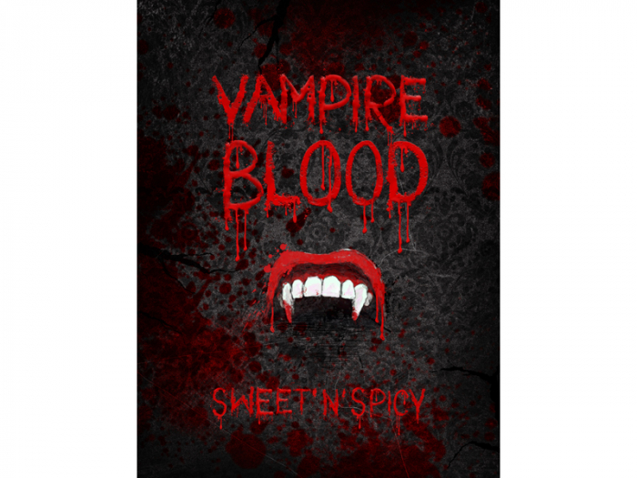 Etichete Sticle Vampire Blood 1