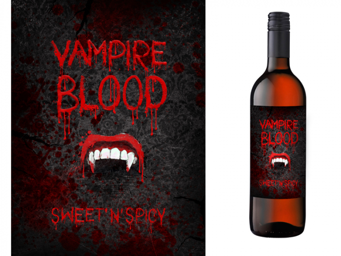 Etichete Sticle Vampire Blood 0
