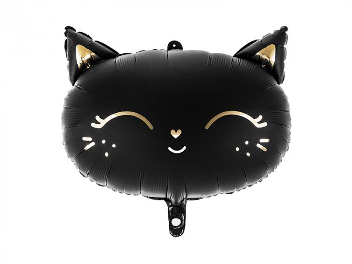 Balon Folie Pisica, Negru - 48x36 cm [0]