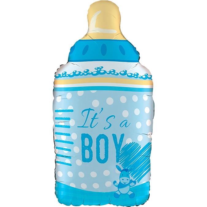 Balon Folie Biberon It's a Boy - 74 cm 0