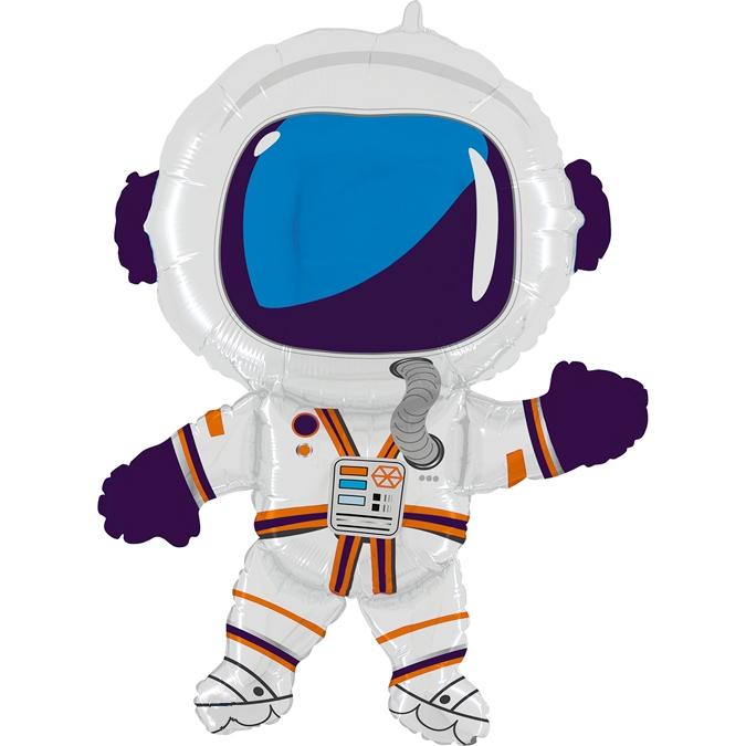 Balon Folie Astronaut - 91 cm 0