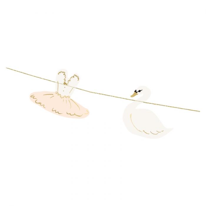 Ghirlanda Balerina Lovely Swan [1]