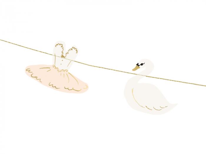Ghirlanda Balerina Lovely Swan [6]