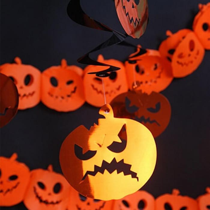 Ghirlande Halloween, dovleci 3