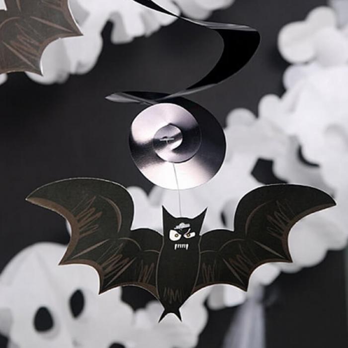Ghirlande Halloween, lilieci si cranii [2]