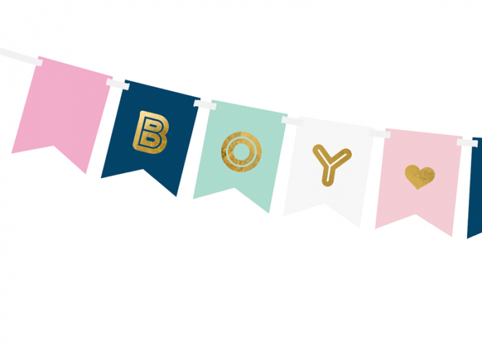 Banner Boy or Girl Gender Reveal 1