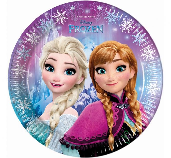 Set 8 Farfurii Frozen, 23 cm [0]