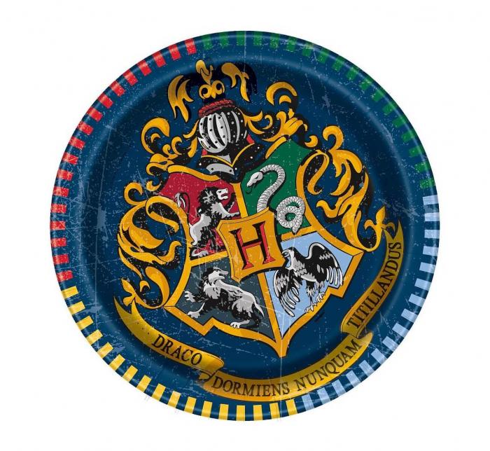 Set 8 Farfurii Harry Potter, 18 cm [0]