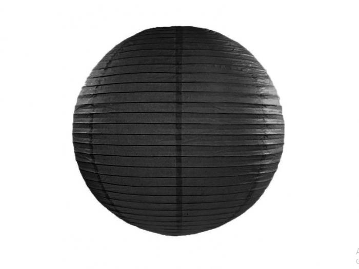 Lampion Negru, 35 cm 0