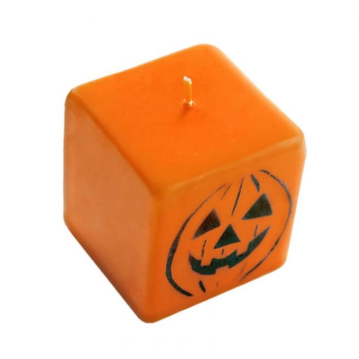 Lumanare, Dovleac Halloween, 7 cm [1]