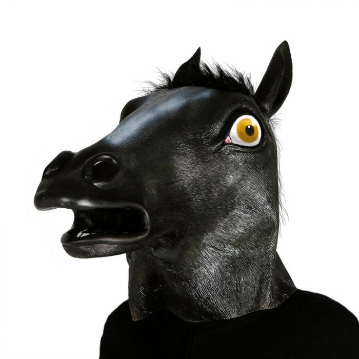 Masca Cal Negru Latex [0]