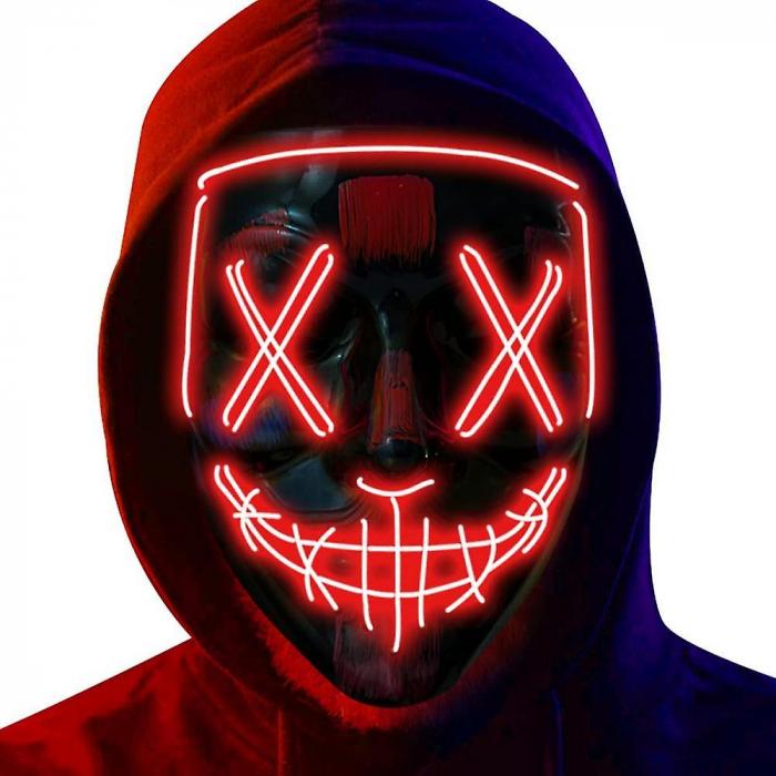 Masca LED Halloween [0]