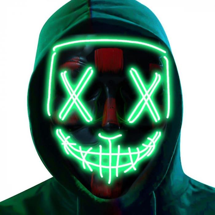 Masca LED Halloween [1]