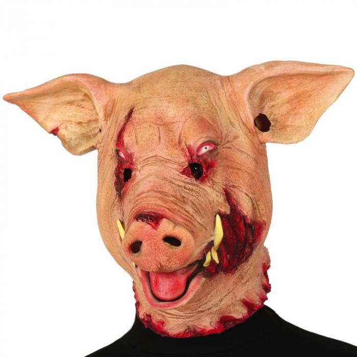 Masca Porc Horror Latex 0