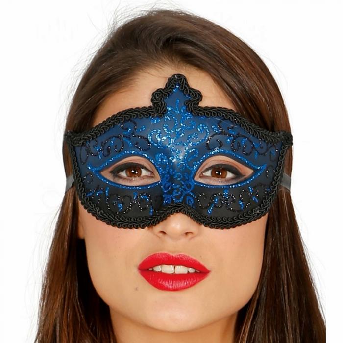 Masca Venetiana Albastra 0