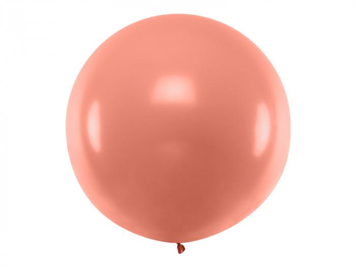 Balon Jumbo Rose Gold Metalizat - 100 cm 0