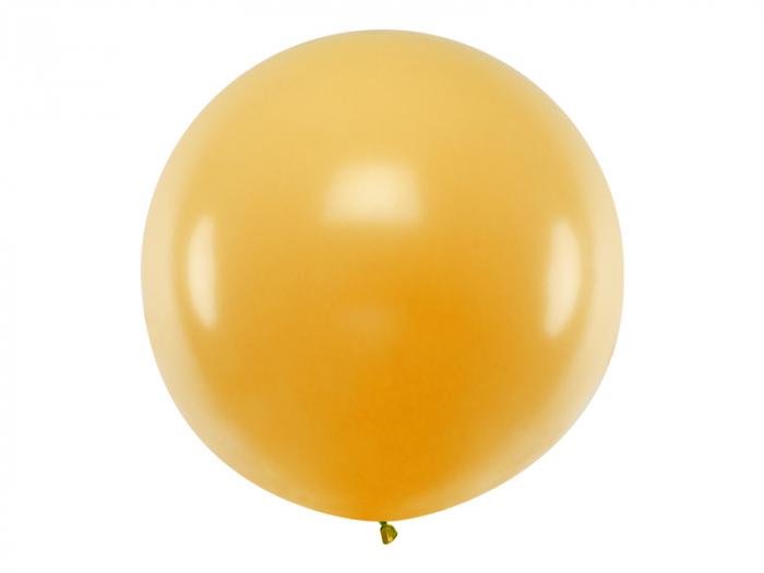 Balon Jumbo Auriu Metalizat - 100 cm [0]