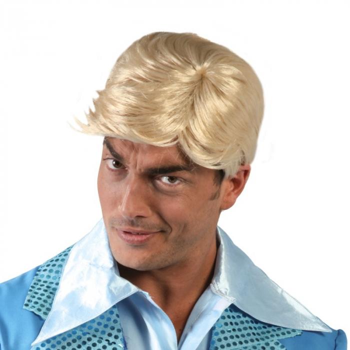 Peruca Blonda Barbati 0