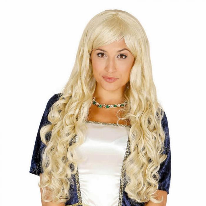 Peruca Blonda Lunga 0