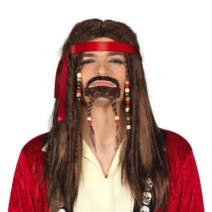 Peruca Pirat cu Barba [0]