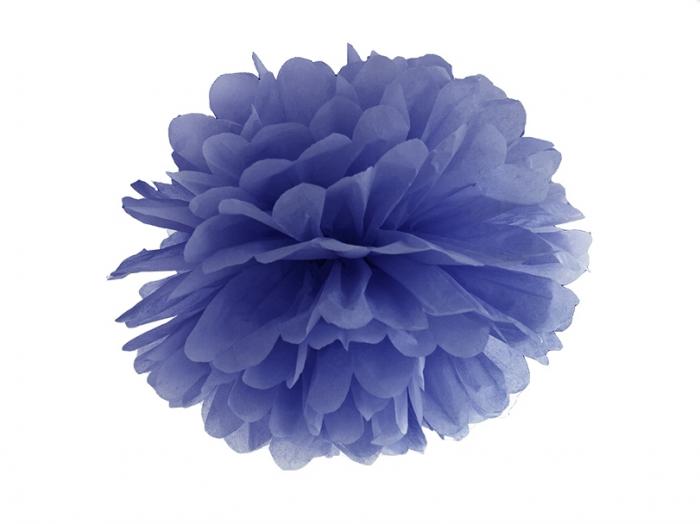 Pom Pom Albastru, 25 cm [0]