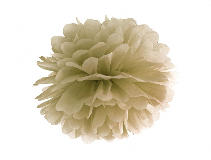 Pom Pom Auriu, 25 cm [0]