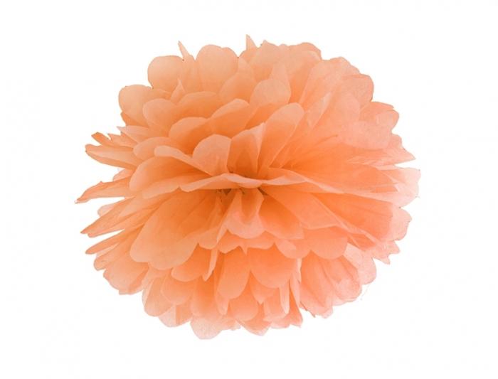 Pom Pom Portocaliu, 35 cm [0]