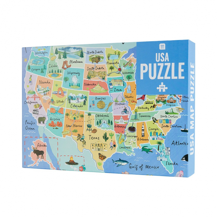 Puzzle USA - 1000 Piese 1