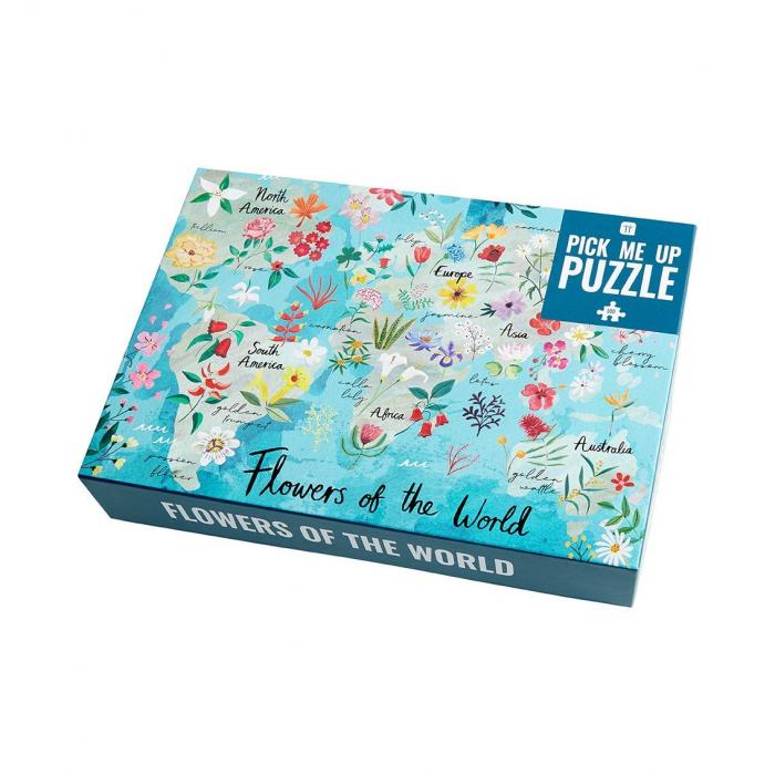 Puzzle Flori - 500 Piese 0