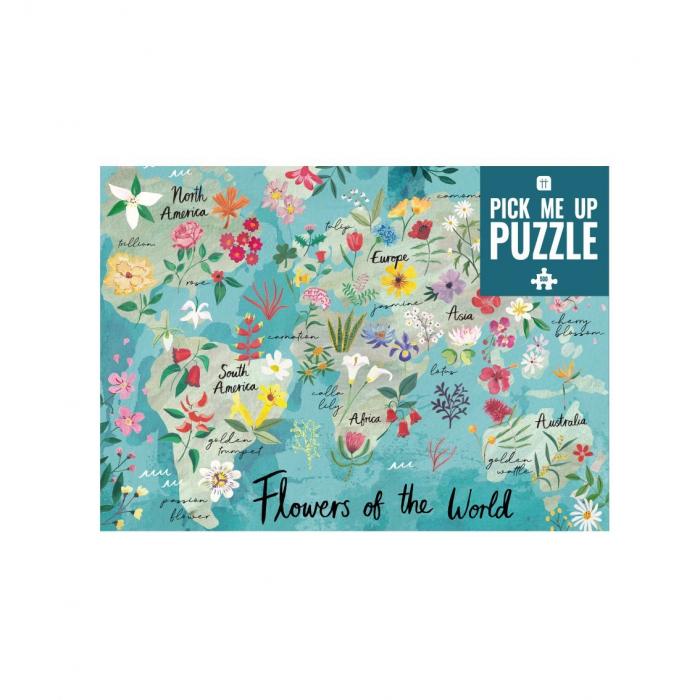 Puzzle Flori - 500 Piese 1