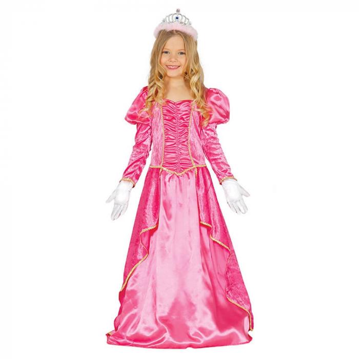 Rochie Roz Printesa 7-9 ani 0