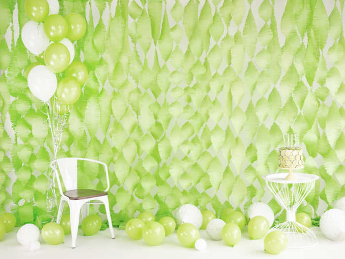 Set 10 Baloane Verde Lime - 30 cm 2