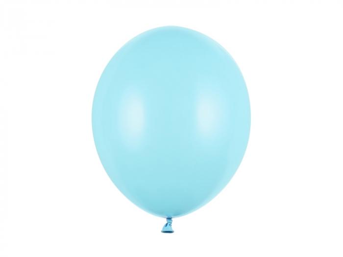 Set 10 Baloane Albastru Deschis Pastel - 30 cm [0]