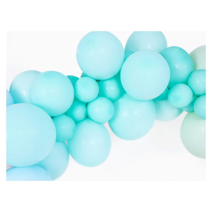 Set 10 Baloane Albastru Pastel - 27 cm [1]