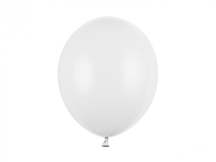 Set 10 Baloane Albe Pastel - 30 cm [0]