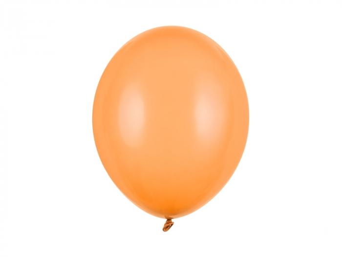 Set 10 Baloane Orange Deschis Pastel - 30 cm [0]