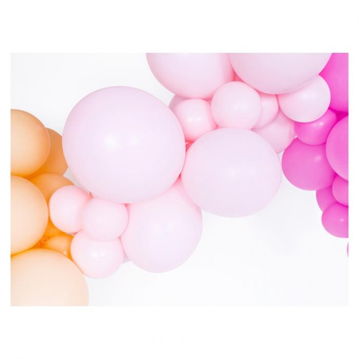 Set 10 Baloane Roz Pastel - 27 cm 1