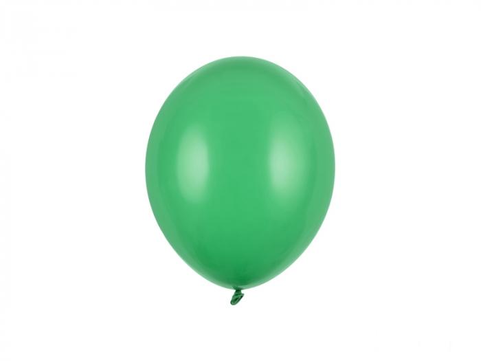 Set 100 Baloane Verde Smarald Pastel - 23 cm [0]