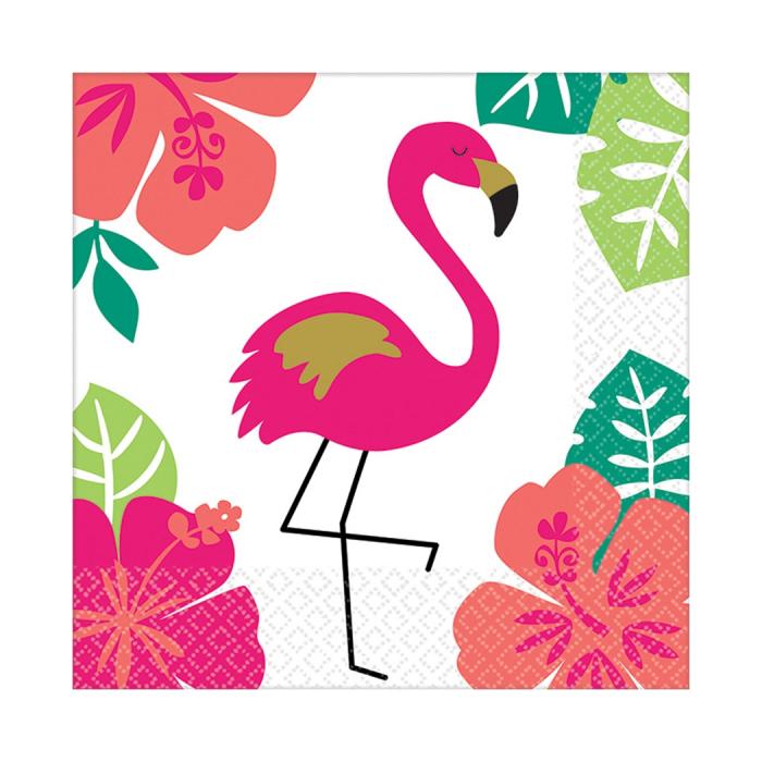 Set 16 Servetele Flamingo [0]