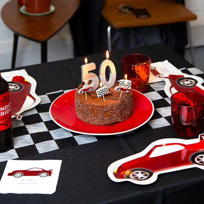 Set 16 Servetele Happy Birthday Party Racer 2