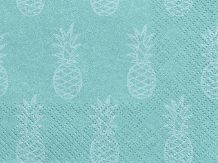Set 20 Servetele Albastre Aloha [1]