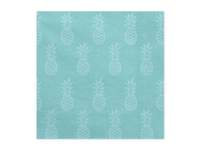 Set 20 Servetele Albastre Aloha [0]