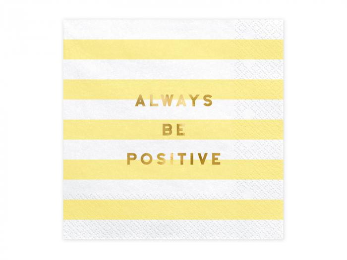 Set 20 Servetele Always be positive [0]