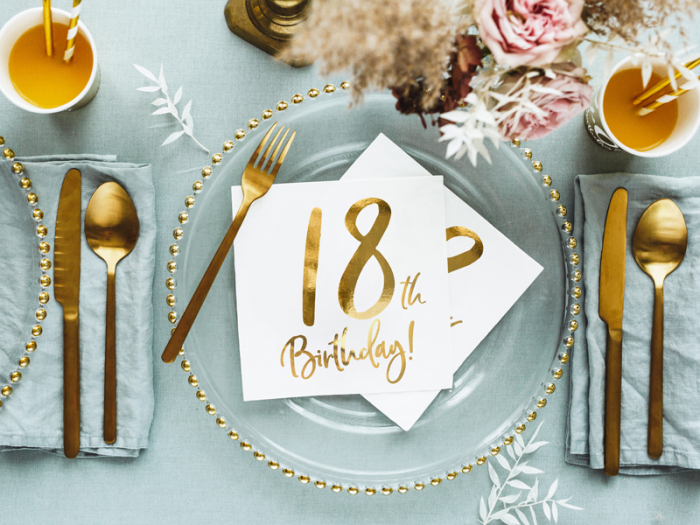 Set 20 Servetele aniversare 18th Birthday [4]