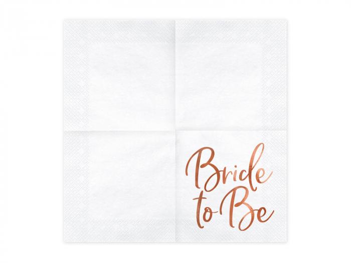 Set 20 Servetele Bride to Be 1